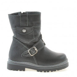 Small children boots 22c black