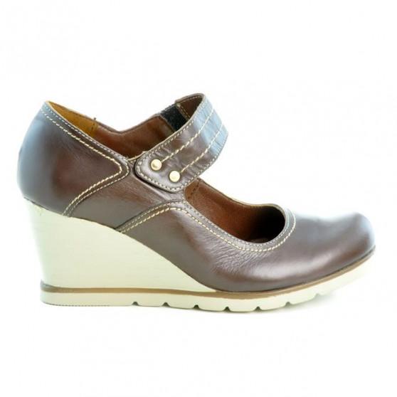 Women casual shoes 199 chocolate