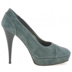 Pantofi eleganti dama 1082 gri antilopa