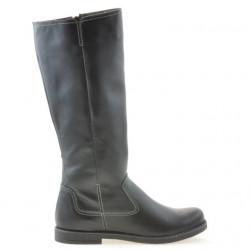Women knee boots 3273 black