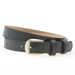 Women belt 01m black pearl