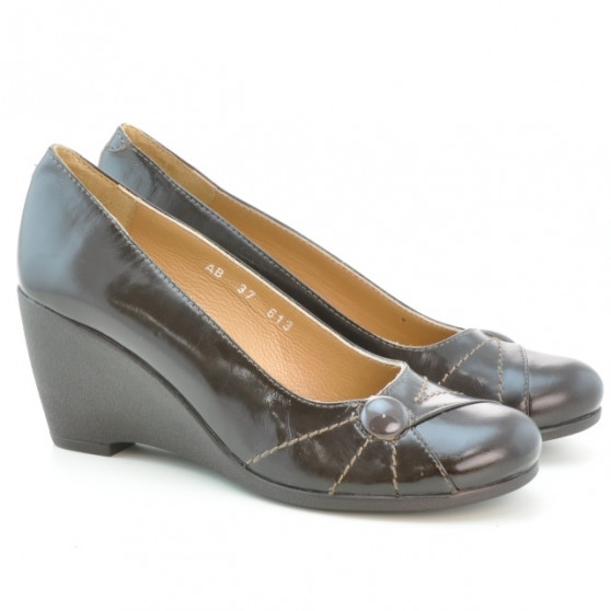 Women casual shoes 613 patent cafe