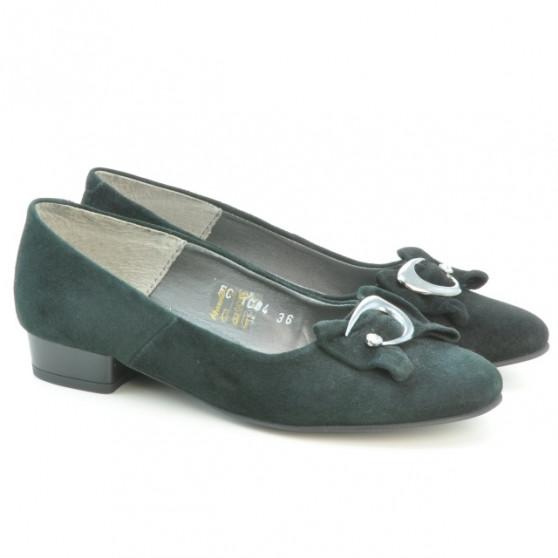 Women casual shoes 1084 black antilopa