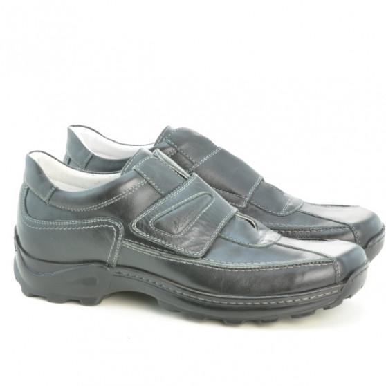 Men casual, sport shoes 943 black