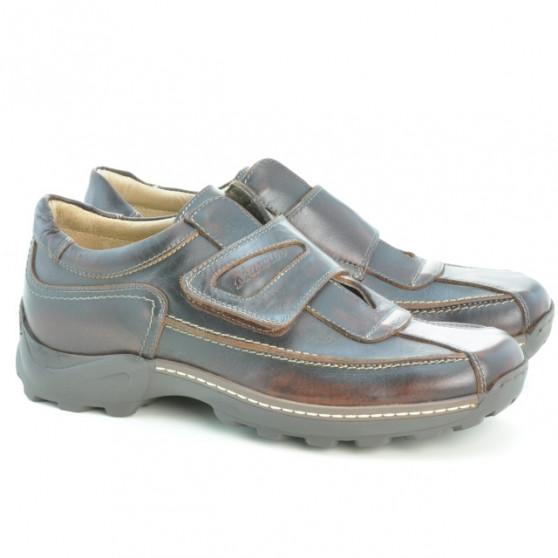 Men casual, sport shoes 943 a brown