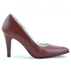 Pantofi eleganti dama 1234 grena