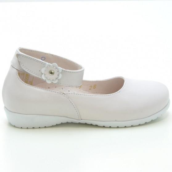 Pantofi copii mici 17c bej sidef