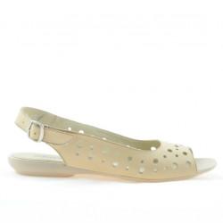 Sandale dama 5020 bej