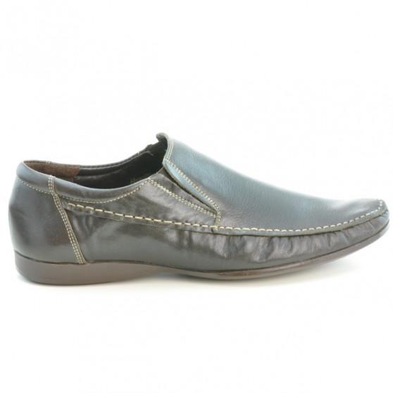 Men stylish, elegant, casual shoes 861 cafe