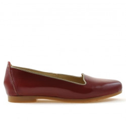 Women dancers 662 patent burgundy