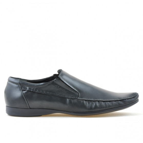 Men stylish, elegant, casual shoes 861 gray