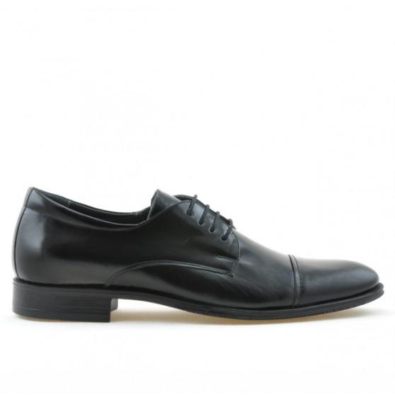 Men stylish, elegant shoes 785 patent black