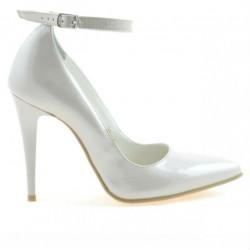 Pantofi eleganti dama 1247 lac bej sidef