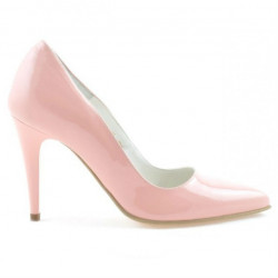 Pantofi eleganti dama 1246 lac roz