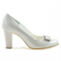 Pantofi eleganti dama 1245 lac bej sidef