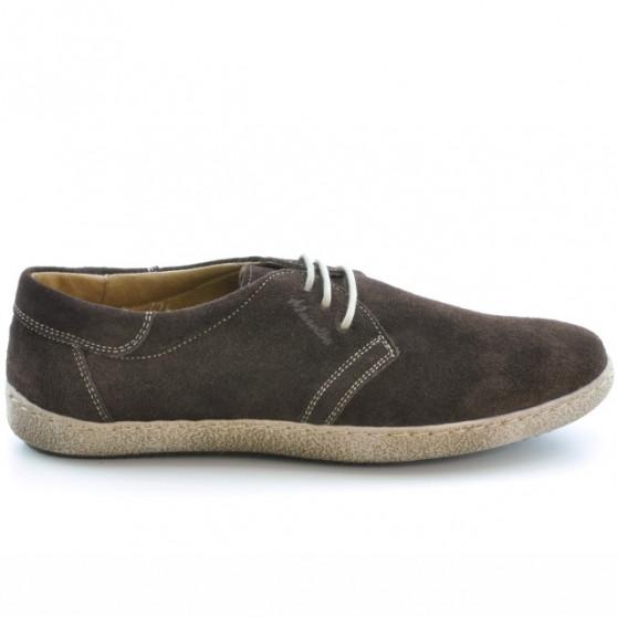 Pantofi casual barbati 774 cafe velur