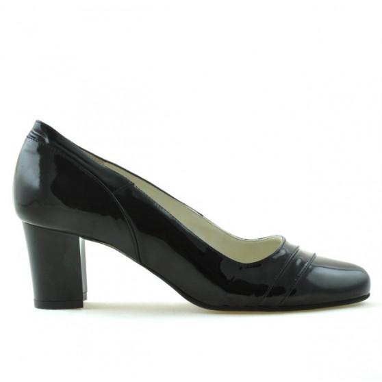 Pantofi eleganti dama 1217 lac negru
