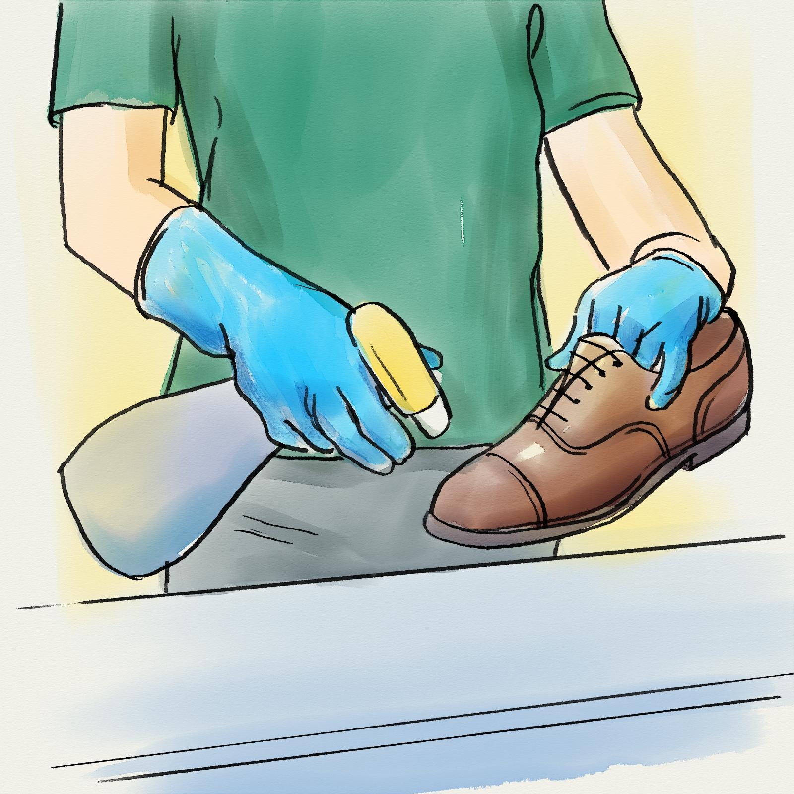 dezinfectare pantofi