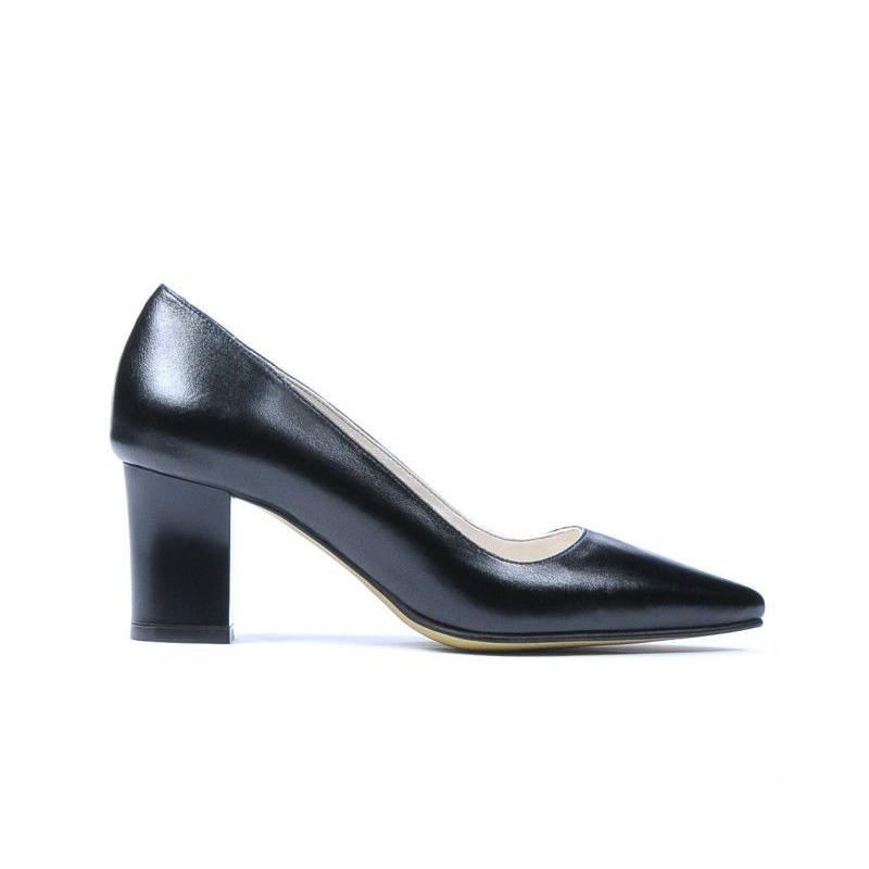 Pantofi eleganti dama 1253 negru. Pret accesibil. Piele naturala.