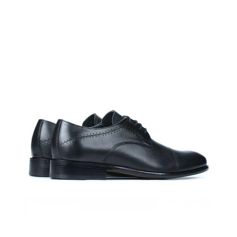 Pantofi eleganti barbati ( marimi mari) 822m negru. Pret accesibil. Piele naturala.