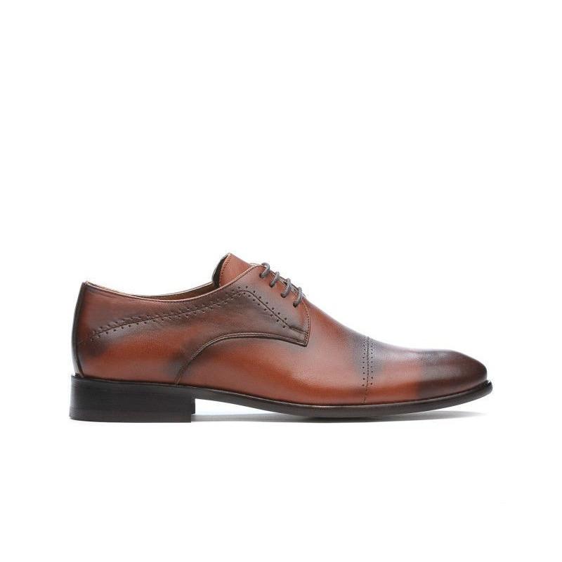Pantofi eleganti barbati ( marimi mari) 822m a maro. Pret accesibil. Piele naturala.